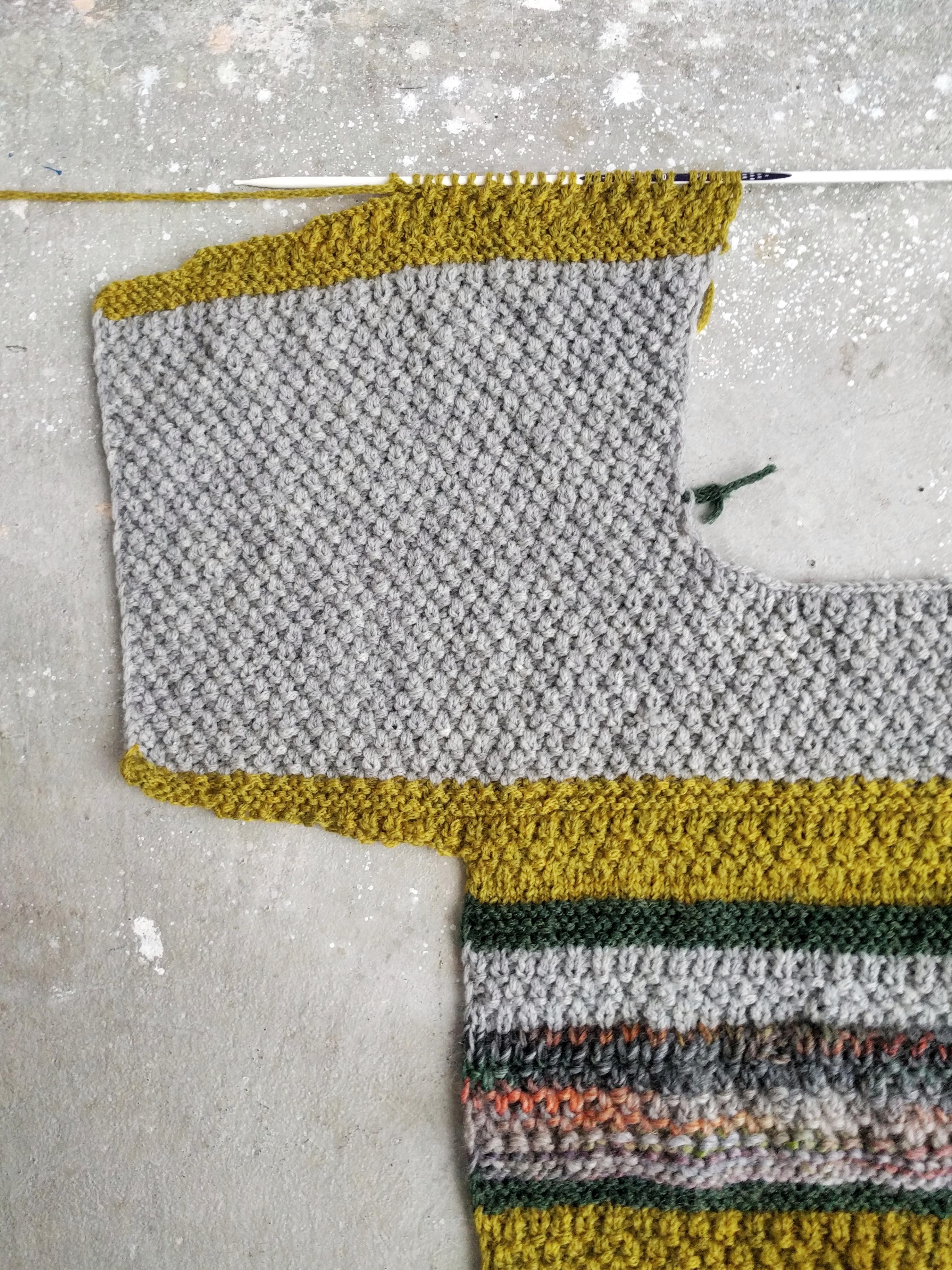 links maschen stricken