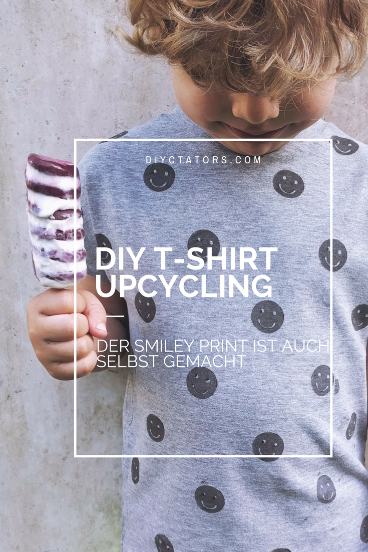 DIY Textilprint und T-Shirt Upcycling